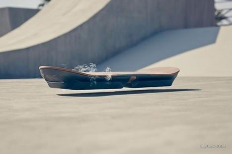Lexus dévoile l'hoverboard du futur | Actinnovation | Ressources pour la Technologie au College | Scoop.it