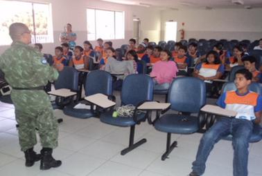 Batalhão Ambiental intensifica educação para salvar e evitar crimes | Jornal da Arca | Scoop.it