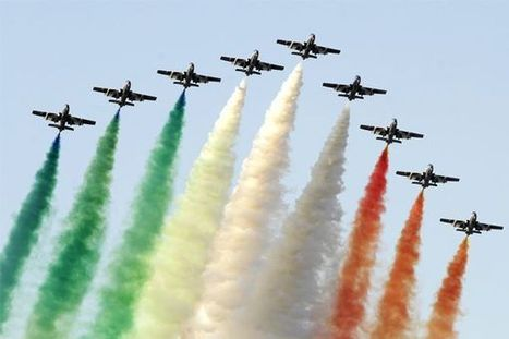 Air-show: Flying high amidst the Hyderabad Bl... - Forbes India   Aerospace events   Scoop.it