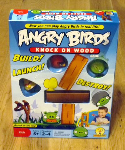 Angry Birds: Knock on Wood Is Ridiculously Fun | Angry Birds | Scoop.it