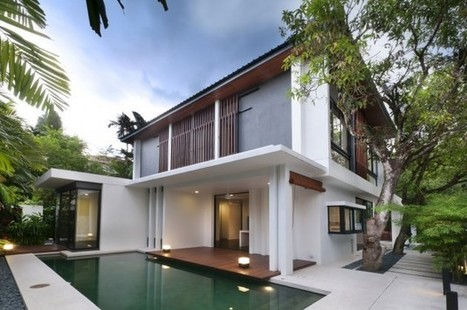 Hijauan House by Twenty-Nine Design | Prionomy | Scoop.it