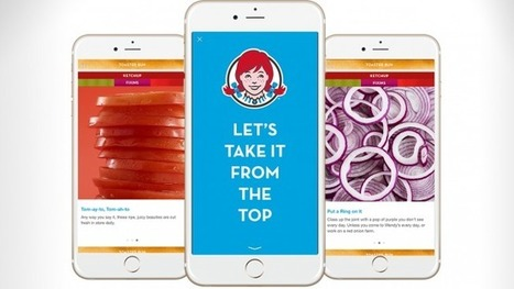 Wendy's Is Making Snapchat-Like Mobile Ads on Facebook | SocialMediaRestaurants.com | Scoop.it