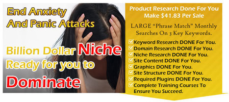 [GET] Anxiety & Panic Attack Niche Package PLR Review - Download | Estella Reviews | Scoop.it