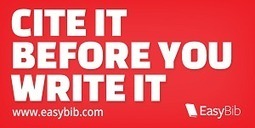 Sticker: Cite it before you write it | EasyBib | Scoop.it