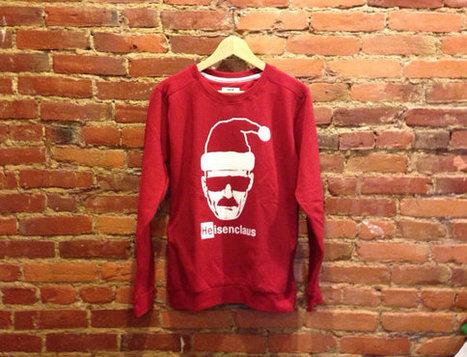 Heisenberg Santa Claus Sweatshirt | Breaking Bad Gift | Heisenberg Sweater | New T-Shirt | Scoop.it