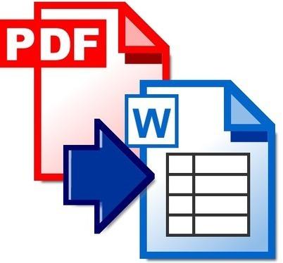 CONVIERTE DE PDF A WORD | BLOG RECURSOS WEB 2.0  Francho Lafuente | informática | Scoop.it