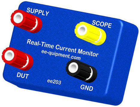 ee203 Real-time Current Monitor Supports 1 μA to 1A Range, Outputs Data to Oscilloscope | Embedded Systems News | Scoop.it