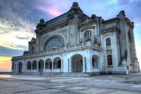 Exploring Romania's Abandoned Constanta Casino - Urban Ghosts | Abandoned Houses, Cemeteries, Wrecks and Ghost Towns | Scoop.it