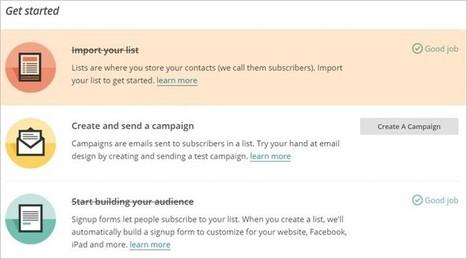 Créer une newsletter gratuite jusqu'à 2000 abonnés avec MailChimp | Methode DISC et communication | Scoop.it