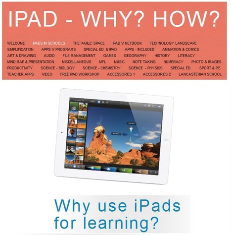 iPad - Why? How? | Mobile Teaching and Learning | Scoop.it