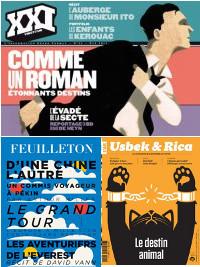 Les revues-livres ou mooks: espaces de renouveau du journalisme littéraire | DocPresseESJ | Scoop.it