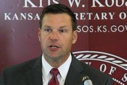 Kris Kobach laying groundwork for two-tier voting system in Kansas | Wichita Eagle | Election by Actual (Not Fictional) People | Scoop.it
