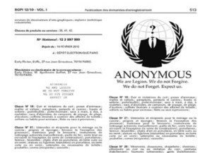 Anonymous : haro sur E-Flicker pour appropriation de logo et de slogan | #VeilleDuJour | Scoop.it