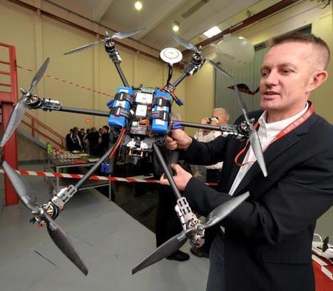 Francazal. Une nouvelle école pour apprendre à piloter des drones | Robotique de service | Scoop.it