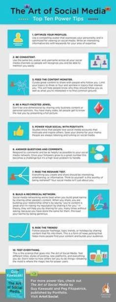 Power Tips from The Art of Social Media | ❤ Social Media Art ❤ | Scoop.it