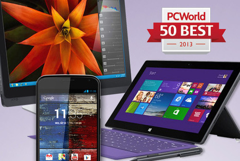 Revealed! The 50 best tech products of 2013 | PCWorld | Tech Revolution 3.0 | Scoop.it