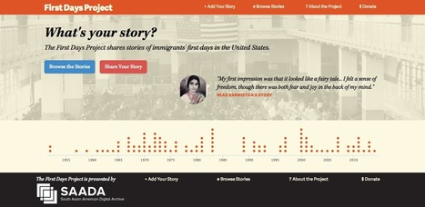 What's Your Story?  Add Your Voice To The First Days Project | Immigration Grassroots Curation | Scoop.it