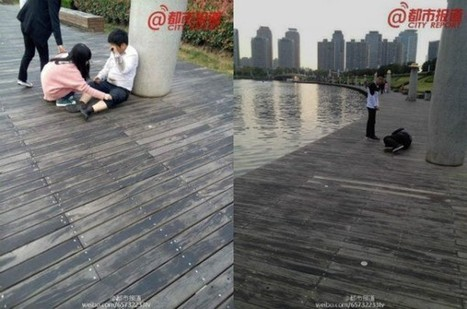Chinese Company Punishes Employees by Making Them Crawl on Their Knees Around a Lake | Strange days indeed... | Scoop.it