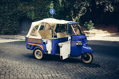 Vespa Tours | Scooteroma | Calessino Parade - collectable Italian style on three wheels | Scoop.it