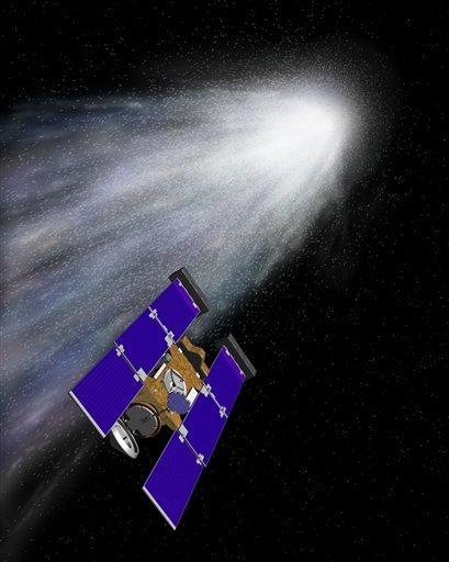 Comet-hunting spacecraft shuts down after 12 years By The Associated Press ... - Laramie Boomerang   NASA TweetUp   Scoop.it