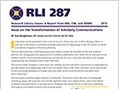 Transformation of Scholarly Communications Explored in ARL's Research Library Issues 287 | Association of Research Libraries® | ARL® | Е-чтение | Scoop.it