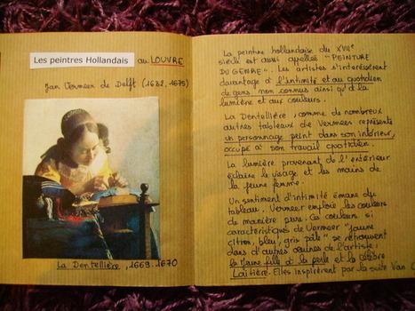 Carnet d'histoire des arts: Vermeer | Histoire des Arts au collège | Scoop.it