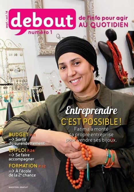 Debout, un magazine beau, utile et gratuit pour joindre les deux bouts | DocPresseESJ | Scoop.it