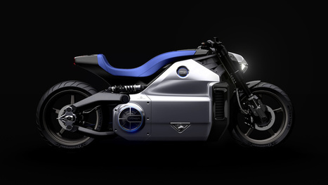 World's most powerful electric motorcycle looks like the future | FutureChronicles | Scoop.it