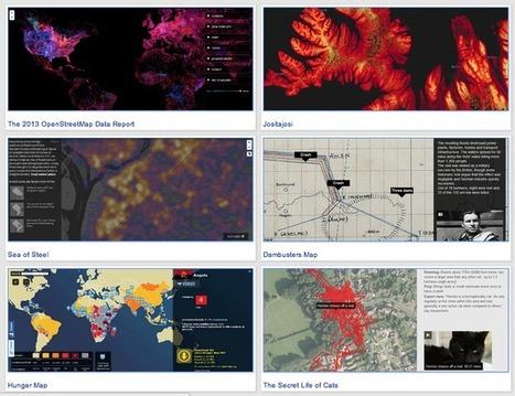 118 mapas interactivos espectaculares   Ser Multimedia   Scoop.it