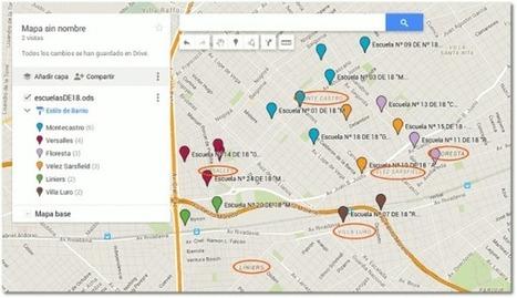 Crear mapas en Google a partir de una lista de direcciones (2016) | Educación 2.0 | Scoop.it