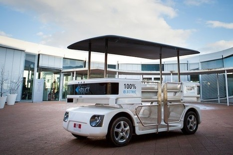 NAVIA, primer vehículo autónomo y eléctrico   Enginys amb enginy   Scoop.it