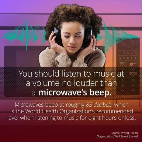 Keep Your Music Volume Down To A Microwave's Beep | FOOD? HEALTH? DISEASE? NATURAL CURES??? | Scoop.it