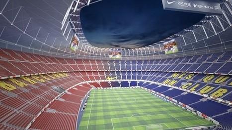 Le projet du nouveau Camp Nou sur les structures du stade actuel | FC Barcelona | The most beautiful stadiums in the World ( Les plus beaux stades du monde) | Scoop.it