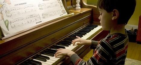 Tocar un instrumento controla las emociones y disminuye la ansiedad de los niños - Adamed TV | Recull diari | Scoop.it