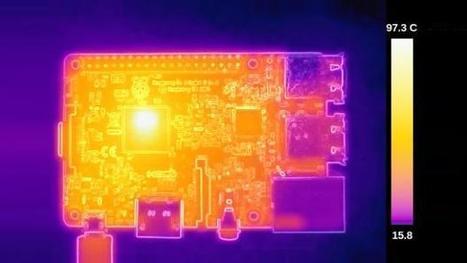 The Raspberry Pi 3 gets seriously hot, clocking up to 100° C   Arduino, Netduino, Rasperry Pi!   Scoop.it