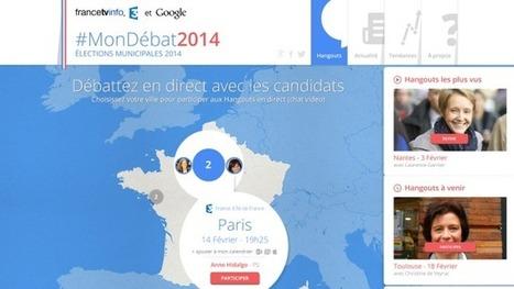 francetv info, France 3 et Google lancent #MonDébat2014.   Social   Scoop.it