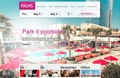 23 Beautiful Hotel Web Designs for Inspiration - Chromatix Blog   The Oscars for web design!   Scoop.it
