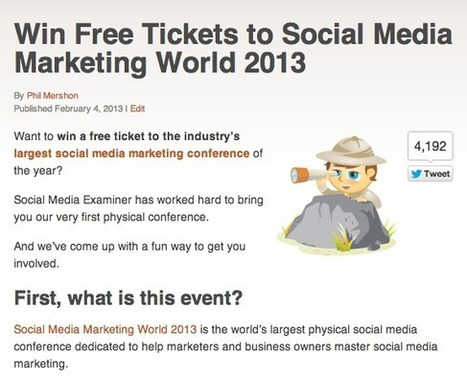 10 Ways to Use Social Media to Promote an Event | Social Media Examiner | CCC Social Media | Scoop.it