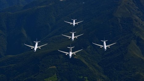 A five-Airbus formation flight is as beautiful and crazy as it sounds | Brèves de scoop | Scoop.it