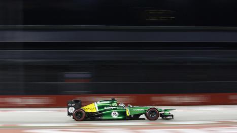 Caterham's Smart New F1 Racer Collects Data From 500 Onboard Sensors | Ingeniería Industrial | Scoop.it