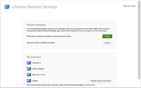 A Very Good Way to Remotely Access your Computer or Chromebook ~ Educational Technology and Mobile Learning | Edtech PK-12 | Scoop.it