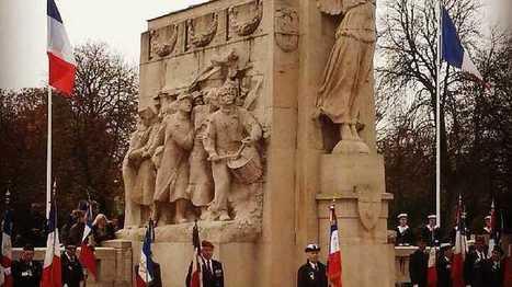 Commémorations du 11 novembre à Dijon, des enfants en première ... - France Bleu | monument aux morts 14-18 | Scoop.it