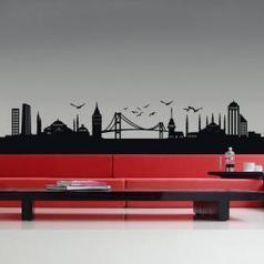 Vinilo Decorativo Skyline Estambul | Vinilos Decoración | Scoop.it