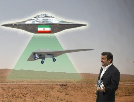 Iran's Flying Saucer Downed U.S. Drone, Engineer Claims | Social media and education | Scoop.it