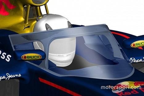 La protection de cockpit de Red Bull utilisée dès 2017? | Auto , mécaniques et sport automobiles | Scoop.it