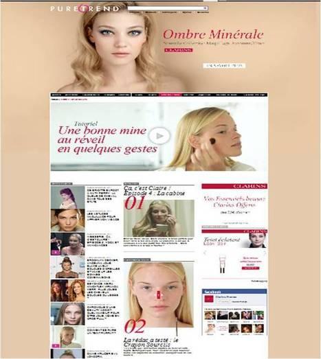 La websérie Clarins sur Puretrend : ça, c'est claire ! | Cosmetique 2.0 | Scoop.it