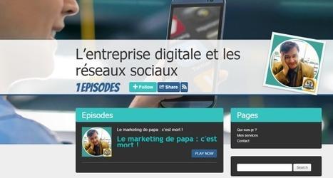 Podcasts: l'entreprise digitale et les réseaux sociaux | EcritureS - WritingZ | Scoop.it