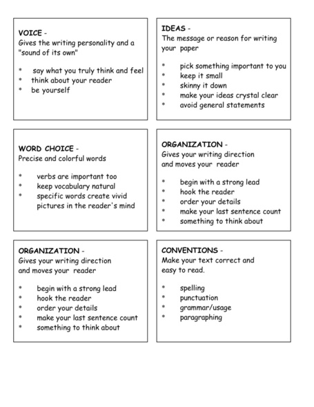 "Lesson Plan:""All About Me"" Paragraph - Grade 5 Writing 