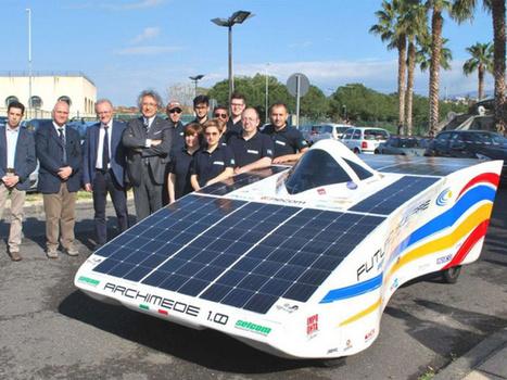 Archimede Solar Car 1.0: auto solare low budget - ecoAutoMoto.com | Mobilità ecosostenibile: auto e moto elettriche, ibride, innovative | Scoop.it