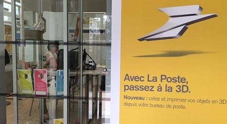 Une imprimante 3D à la Poste Nantes-Bretagne | Early Nantes | Scoop.it